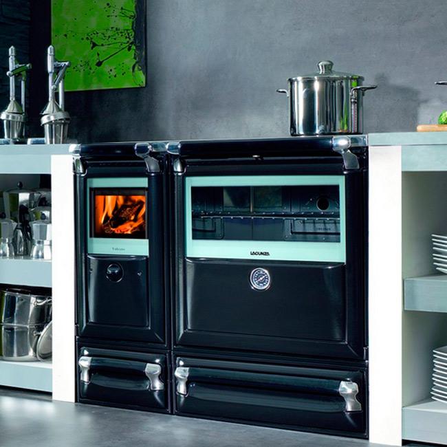 Vulcano cocina econ mica a le a - Cocina economica a lena ...