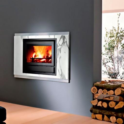 Casas cocinas mueble revestimiento chimeneas - Revestimientos de chimeneas rusticas ...