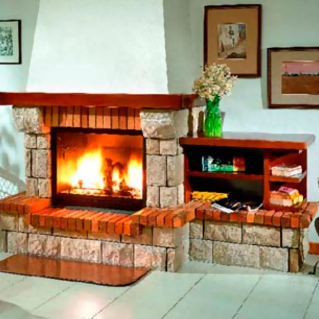 F 227 revestimiento para chimeneas - Revestimientos de chimeneas ...