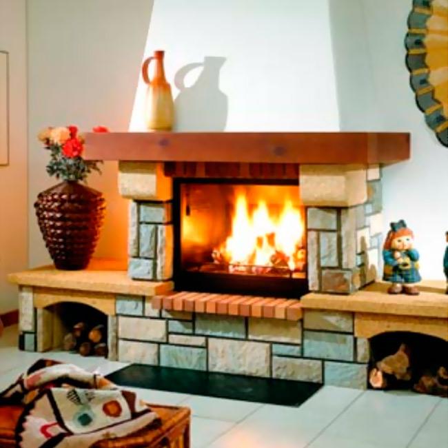 F 263 revestimiento para chimeneas - Revestimientos de chimeneas ...