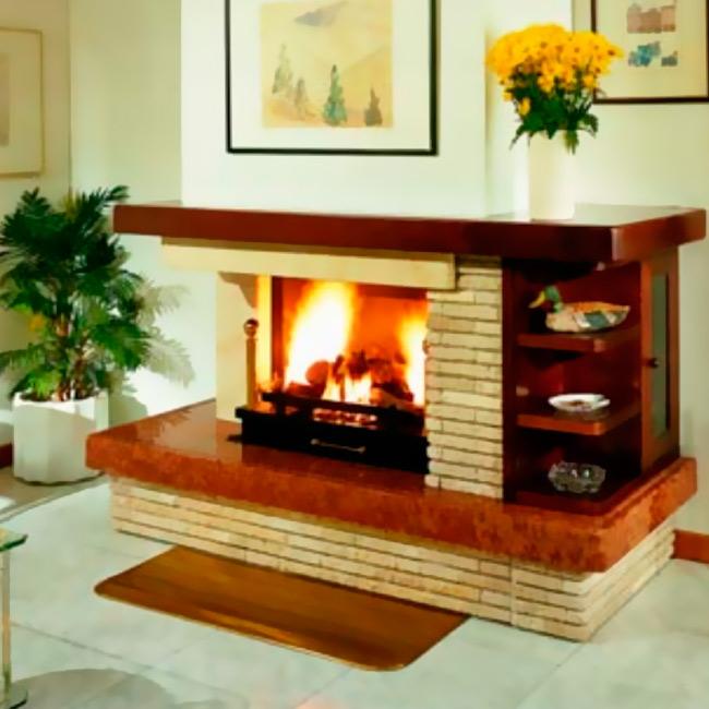 Decoracion mueble sofa revestimiento de chimeneas - Revestimientos de chimeneas rusticas ...