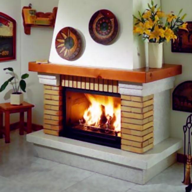 F 341 revestimiento para chimeneas - Revestimientos de chimeneas rusticas ...