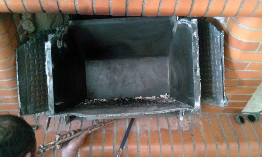 Sustituir una chimenea sin modificar su dise o y estructura - Estructuras de chimeneas ...
