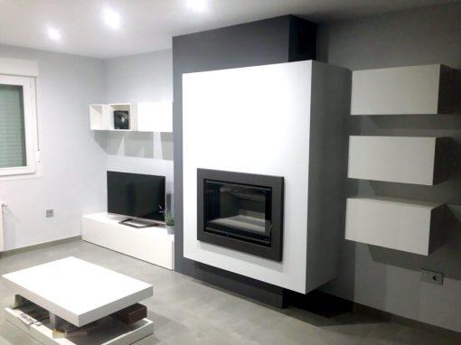 Chimeneas vaquer estufas chimeneas y hornos for Estufa hogar moderna